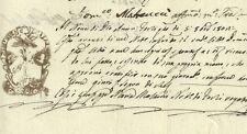 Repubblica Italiana Napoleone Presidente - Forlì 1802 Raccolta di Grano