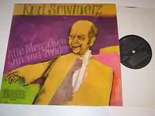 LP/KURT SOWINETZ/ALLE MENSCHEN SAN MA ZWIDER/Preiser Records SPR 3233