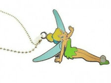 Officially Licensed Silver Disney Tinkerbell Necklace, New - Gift-Boxed