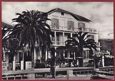 SAVONA PIETRA LIGURE 26 HOTEL ALBERGO Cartolina FOTOGRAFICA viaggiata 1955