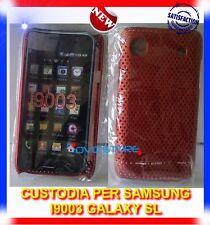 Pellicola+Custodia MESH ROSSO per Samsung I9003 GALAXY SL