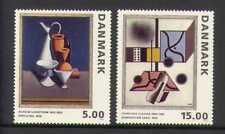 Denmark 1993 Art/Paintings/Artists/Design 2v set n19844