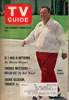 1965 TV Guide February 6 - Jackie Gleason; Beverly Garland; The Man From Uncle
