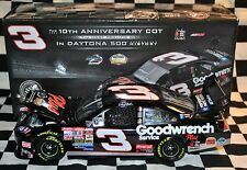 Dale Earnhardt GM Goodwrench Plus 1998 Daytona 10th Anniv 1:24 Die Cast NASCAR