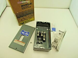 Square D HOM2-4L70S 70A 120/240V ac 1-Phase 3-Wire Indoor Main Lug Load Center
