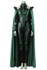 THOR 3 Ragnarok Trailer Hela Outfits Robe Cosplay Costume Halloween Custom Made