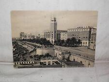 Vecchia cartolina foto d epoca di Taranto lungomare La Rotonda strada veduta