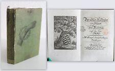 Espina - Dresde Calendario para Usado la residencia en eso Año 1819 -Sachsen xz