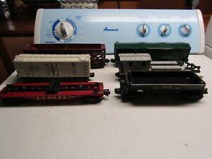 Lionel Postwar Freight Cars - 3469, 3472, 6419, 3460, 3356, 643625