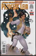 Terry Dodson SIGNED Star Wars Princess Leia #1 / Marvel Comics Art FIRST ISSUE