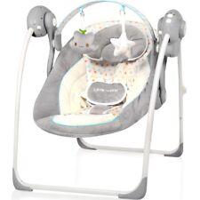 Babyschaukel vollautomatisch 230V Baby Schaukel Wippe Wiege Liege + (Spielbogen)