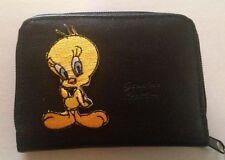 Tweety Bird Design Leather Wallet Credit Debit Card ID Holder
