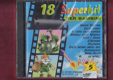 18 SUPERHIT PER BAMBINI VOL.5 cover version CD NUOVO SIGILLATO