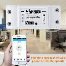 Sonoff ITEAD WiFi Wireless Smart Switch Module ABS Shell Socket for DIY Home