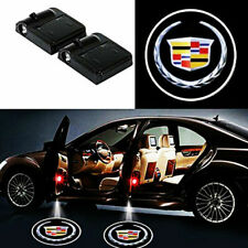 2pcs Wireless Led Welcome Laser Projector Logo Light Shadow For Cadillac