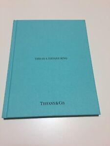 Catalogo Tiffany Anelli - Copertina Rigida