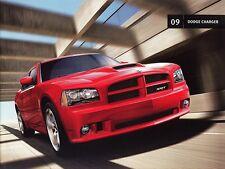 2009 Dodge Charger SE SXT R/T  R/T Road/Track Daytona SRT8 Sales Brochure
