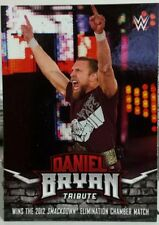 2017 TOPPS WWE DANIEL BRYAN TRIBUTE WINS THE 2012 SMACKDOWN ELIMINATION CHAMBER