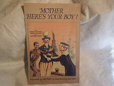 1918 MOTHER HERES YOUR BOY,UNCLE SAM WWI SHEET MUSIC,Patriotic,statue of liberty