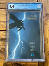 BATMAN DARK KNIGHT RETURNS #1 CGC GRADE 9.4 DC Comics 1986