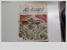 """S GAUGE VINTAGE 1960""""s AMERICAN FLYER ALL ABOARD INSTRUCTION BOOKLET"""