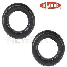 For Pair Set Front Left & Right Axle Shaft Seal Stone For Acura CL Honda Accord