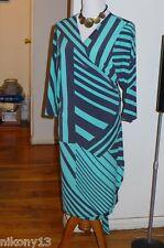 NWT Gorgeous Designer Soho Apparel Wrap dress, 1X
