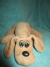 Vintage Pound Puppies Newborn plush dog brown puppy 1985 8""