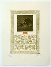 Malou Hung, Hong Kong, Exlibris  Radierung etching III