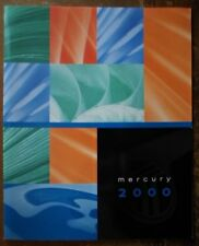 MERCURY Range ORIG 2000 USA Mkt opuscolo-Cougar mistica Grand Marquis zibellino