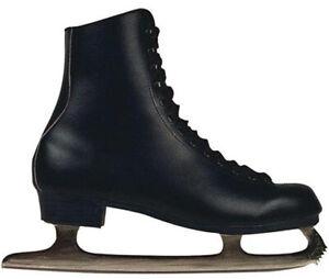Herren Schlittschuhe 0058 Iceskates Schwarz Skates Eiskunstlauf Kinderschlittsch
