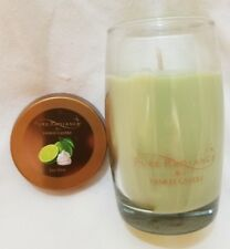 Yankee Candle PURE RADIANCE KEY LIME 3.7 oz Classic Small Jar Crackling Baby