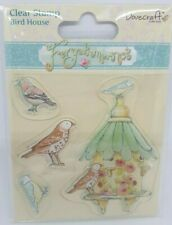Dovecraft FORGET ME NOT - Clear Stamps - Bird House