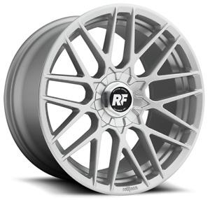 """19"""" Rotiform RSE Alloy Wheels Silver 5x112 fits VW Caddy Mk3 Mk4"""