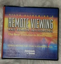 Silva Ultramind's REMOTE VIEWING & INFLUENCE 11 CD Set With Workbook CD