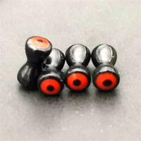 Fly Tying Materials Brass Dumbbell with Eyes Fly Tying Beads for Flies-20PCS/Lot