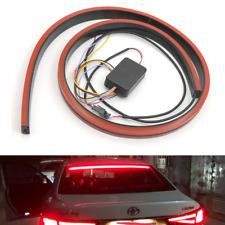 1m Rot Kfz LED Heckscheibe Bremsleuchte Zusatzrückleuchte Sequentiell LAUFEFFEKT