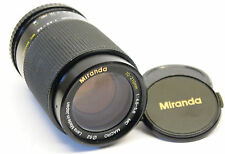 Miranda 70-210mm f/4.5-5.6 Lente Pentax PK Montaje Stock no. U6867