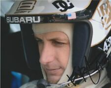 2005 Ken Block signed Subaru Helmet Shot Pike's Peak PPIHC 8x10 Photo