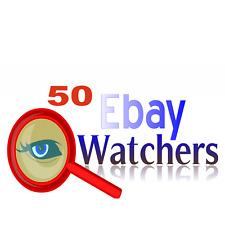 50 ebay watchers