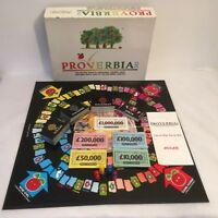 Proverbia 345 Board Game 1988 Linavon Pat Pending Vintage Complete Rare