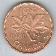 CANADA  -  1981  CANADIAN   1 CENT COIN MONEY  (No.2)