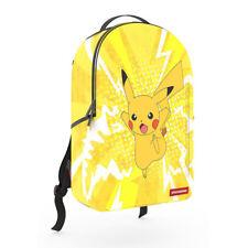 Sprayground NEW Unisex Pokemon Pikachu Backpack Yellow BNWT