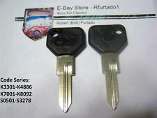 Key Blank - Alfa Romeo 33 Graduate - Fiat Strada - Ferrari - Maserati (SP25A-P)