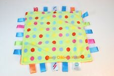 Tag Taggie Security Blanket Mercy Children's Hospital Primary Polka Dot Green