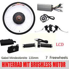 "26"" 48V 1000W LCD Rear Wheel Motor Bicycle Hub Electric E Bike Conversion Kit"