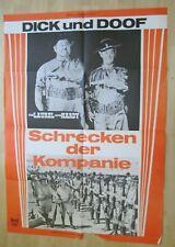 Filmplakat - Dick und Doof Schrecken der Kompanie (Stan Laurel , Oliver Hardy)