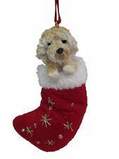 Goldendoodle Santa's Little Pals Dog Christmas Ornament