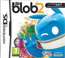 de Blob 2 Nintendo DS NDS DS Lite DSi XL Brand New