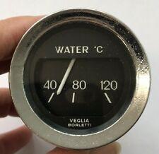 Water Temperature Dashboard Gauge - Veglia Borletti , Classic / Vintage